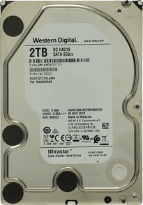 Жесткий диск  Western Digital Ultrastar 3.5  7K2 7.2K SATA3