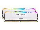 Оперативная память Crucial Ballistix White RGB  BL2K8G30C15U4WL