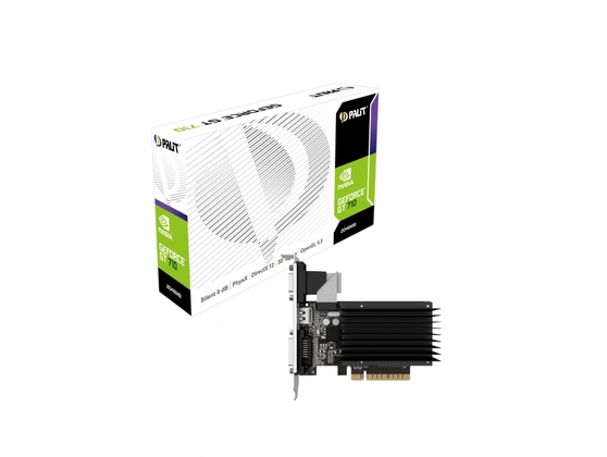 Видеокарта Palit GeForce GT 710 2 ΓБ Retail
