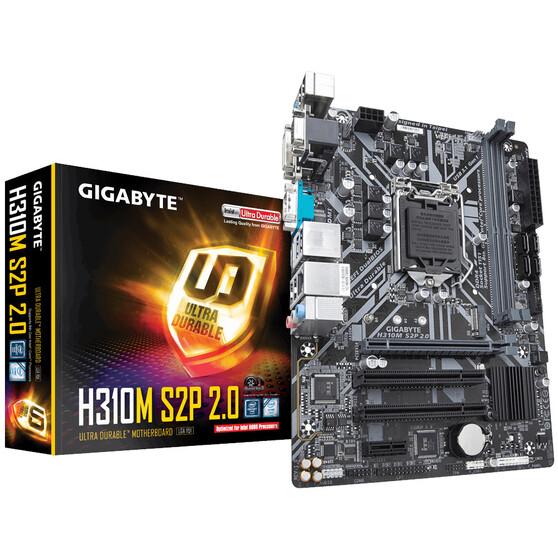 Материнская плата Gigabyte LGA1151 Intel H310 H310M S2P 2.0