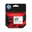 Купить Картридж пурпурный, желтый, голубой HP Inc. 651, C2P11AE, Пурпурный