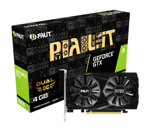 Видеокарта Palit GeForce GTX 1650 4 ΓБ Retail