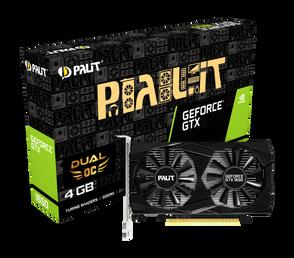 Видеокарта Palit GeForce GTX 1650 4 ΓБ Retail