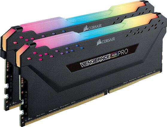 Оперативная память Corsair Desktop DDR4 3200МГц 2x8GB, CMW16GX4M2C3200C16, RTL