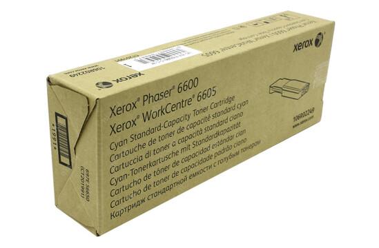 Phaser 6600/WorkCentre 6605, голубой тонер-картридж стандартной емкости