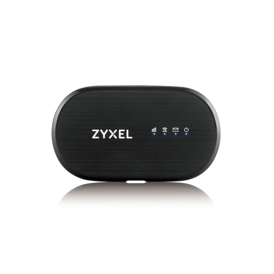 WAH7601 Portable Cat. 4 LTE  Портативный LTE Cat.4 Wi-Fi маршрутизатор Zyxel WAH7601 (вставляется сим-карта), 802.11n (2,4 ГГц) до 300 Мбит/с, поддер