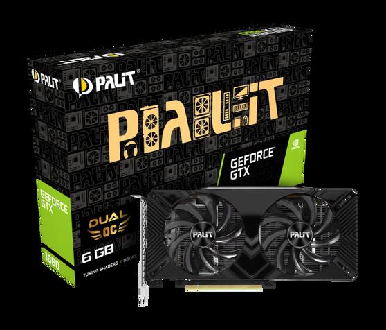 Видеокарта Palit GeForce GTX 1660 6 ΓБ Retail