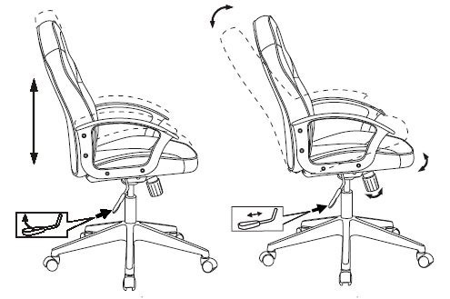 Кресло игровое Бюрократ  VIKING-11