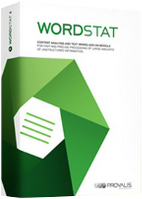 Provalis Research WordStat 8