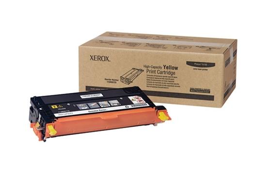 Phaser 6180, принт-картридж желтый Phaser h 6180