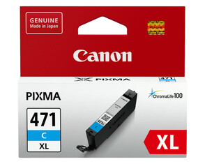 Картридж голубой Canon CLI-471XL, 0347C001