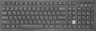 Клавиатура Defender UltraMate SM-535 45535, цвет черный