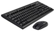 Клавиатура+мышь A4tech 3100N, цвет черный