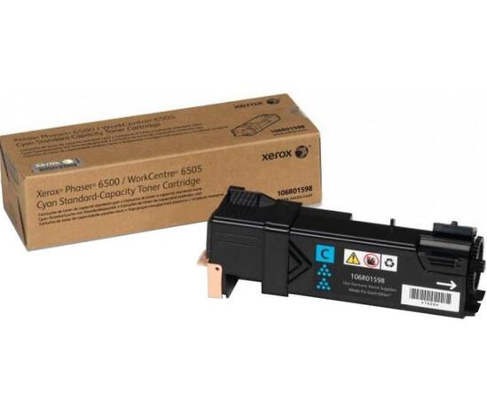Phaser 6500/WorkCentre 6505, голубой тонер-картридж стандартной емкости