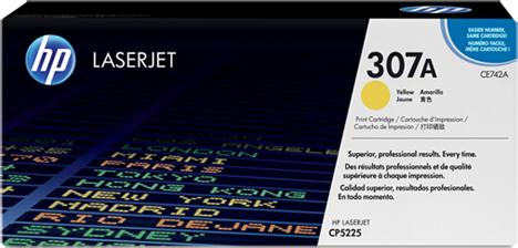 Картридж желтый HP Inc. CE742A