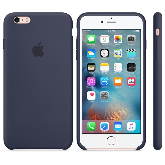 APPLE iPhone 6 Plus/6s Plus Silicone Case Midnight Blue