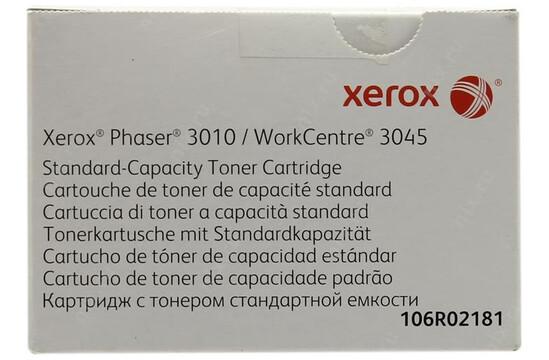 Фото товара Phaser 3010/3040/WorkCentre 3045, тонер-картридж стандартной емкости