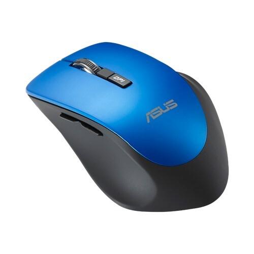 Мышь ASUS Wireless WT425 90XB0280-BMU040, цвет черный