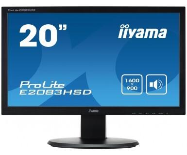 Монитор Iiyama E2083HSD 19.5-inch черный