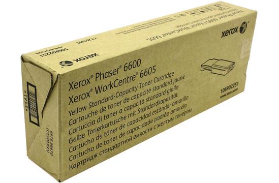 Фото товара Phaser 6600/WorkCentre 6605, желтый тонер-картридж стандартной емкости