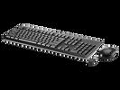 Клавиатура+мышь HP Inc. Wireless Keyboard & Mouse 1Y4D0AA, цвет черный
