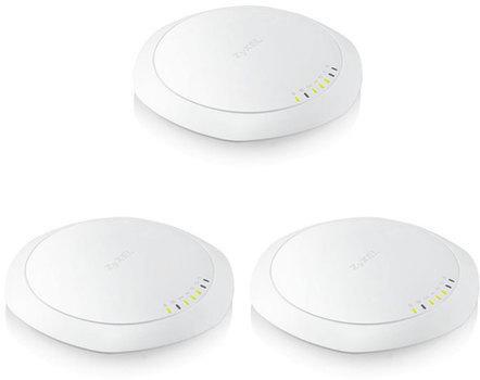 ZYXEL 1123-AC Pro (3 pcs pack) 802.11ac Dual-Radio Dual Mount PoE Access Point