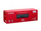 Тонер-картридж черный Canon 725, 3484B005