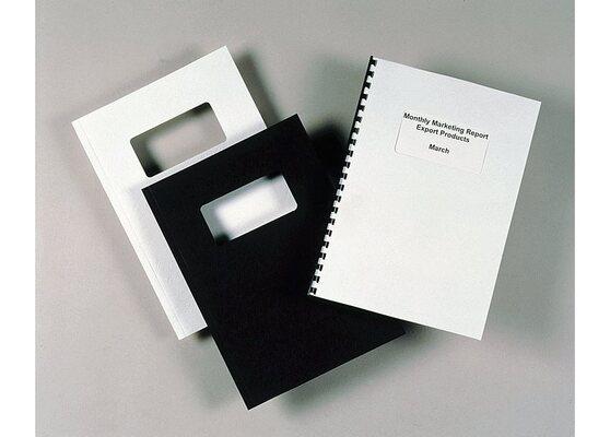Обложки для переплета белый GBC CE040070