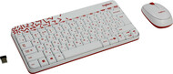 Клавиатура+мышь Logitech MK240 920-008212, цвет белый