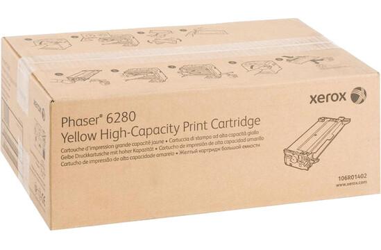 Фото товара Phaser 6280, принт-картридж желтый Phaser h6280