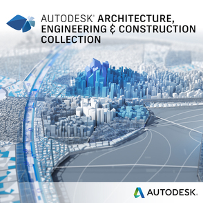 Autodesk AEC Collection (продление электронной версии, GEN), сетевая лицензия на 3 года, 02HI1-00N171-T507