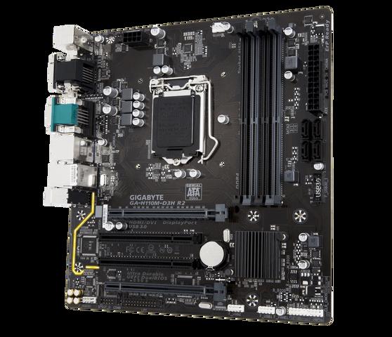 Материнская плата Gigabyte LGA1151 Intel H110 GA-H110M-D3H R2