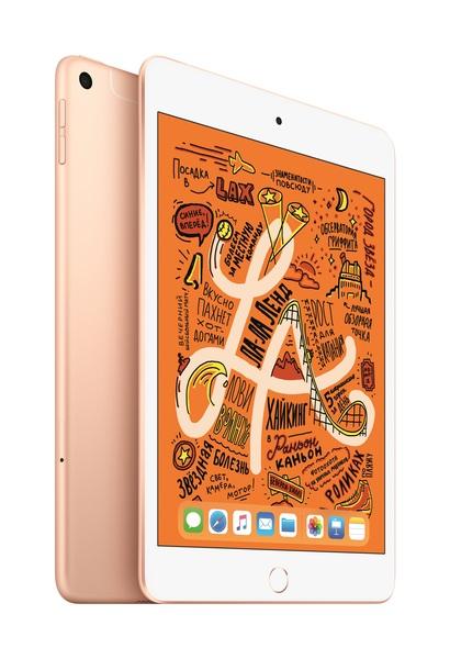 Планшет Apple iPad mini (2019) 256GB Wi-Fi + Cellular Gold
