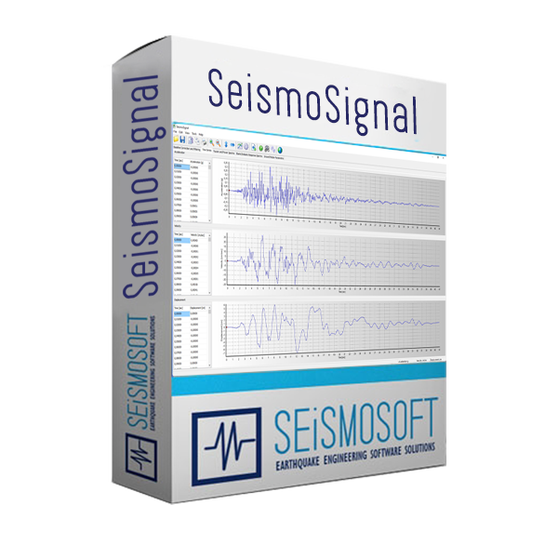 Seismosoft SeismoSignal 2020 (лицензия), Лицензия SeismoSignal 2020 + USB Dongle Key