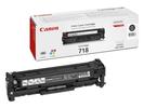Тонер-картридж черный Canon 718, 2662B002