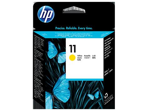 Печатающая головка желтый HP Inc. 11, C4813A