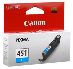 Картридж голубой Canon CLI-451C, 6524B001