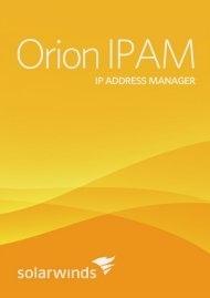 SolarWinds IP Address Manager 4
