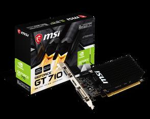 Видеокарта MSI GeForce GT 710 2 ΓБ Retail