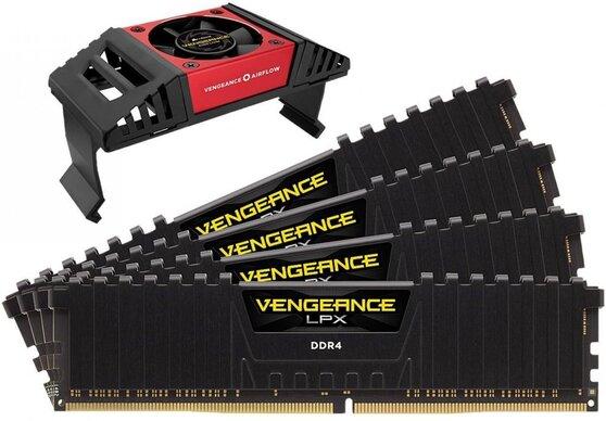 Оперативная память Corsair Vengeance LPX DDR4 3733МГц CMK64GX4M4K3733C17