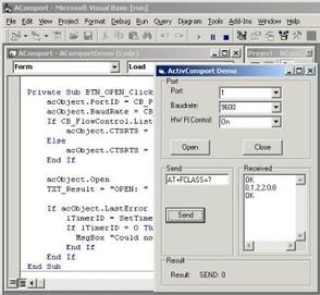 ActiveXperts Serial Port Component
