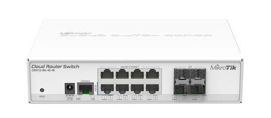 Коммутатор MikroTik CRS112-8G-4S-IN