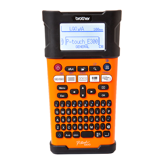 Принтер Brother P-touch PT-E300
