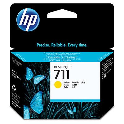 Картридж желтый HP Inc. 711 с, CZ132A