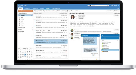 Zimbra Collaboration Suite – Standard Edition