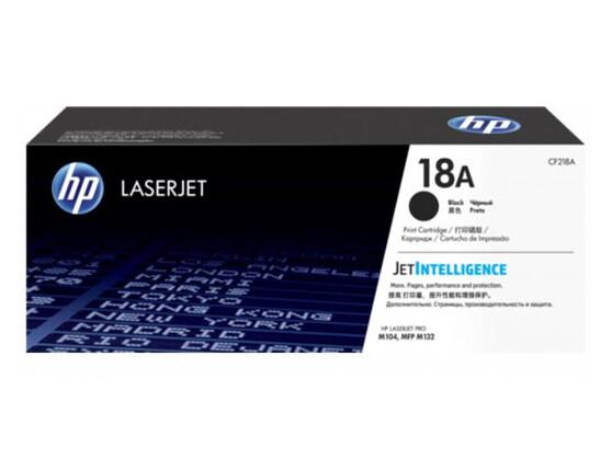 Картридж черный HP Inc. CF218A