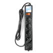 Сетевой фильтр Powercube Сетевой фильтр SPG-B-6-BLACK 1.9м (5 розеток).