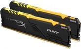 Оперативная память Kingston HyperX Fury Black RGB 32GB, HX426C16FB3AK2/32, RTL