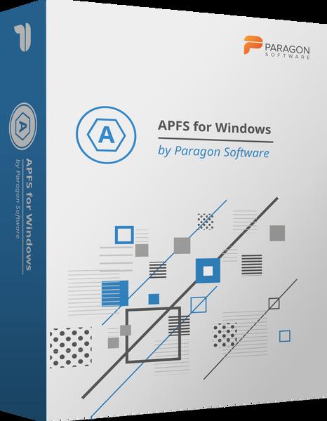 Paragon Software Group APFS for Windows by Paragon Software (лицензия), цена за 3 лицензии