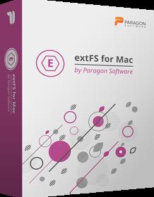 Paragon ExtFS for Mac OS X
